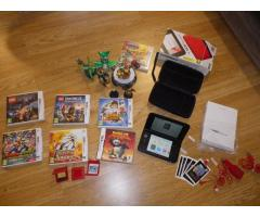 Nintendo 3DS XL red + accessories