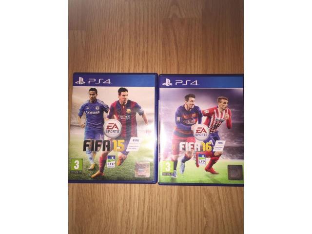 FIFA 15 and FIFA 16 - PS4