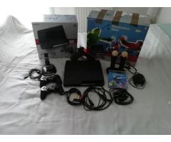 Sony PlayStation 3 Move Pack 320GB Black Console.
