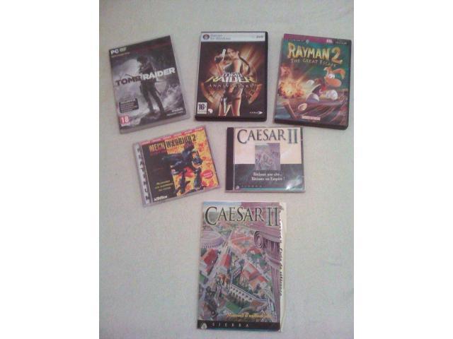 5 PC Games: 2 Tomb Raider + Rayman