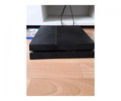 Ps4 slim 1To with 2 handles